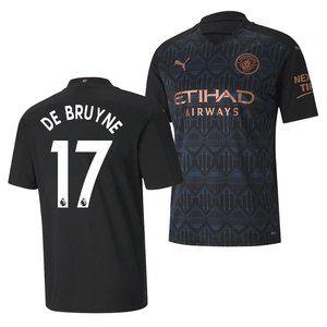 Manchester City Kevin De Bruyne Away Jersey